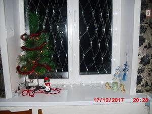 Украшение окна к НГ. Ярмарка Мастеров - ручная работа, handmade.