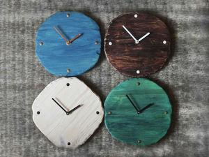Новая коллекция деревянных часов. Ярмарка Мастеров - ручная работа, handmade.