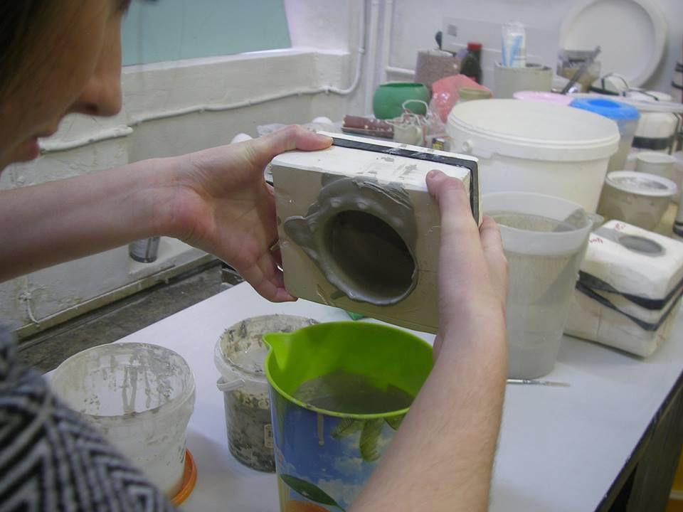 шликер, литье фарфора, дизайн фарфора, приготовление шликера