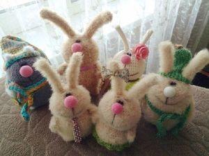 Распродажа готовых звериков! :) Успейте купить любого зайца или мишку за 600 руб.! | Ярмарка Мастеров - ручная работа, handmade