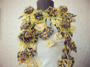 Распродажа оригинальных шарфико!!! От 799 руб!! Много готовых и на заказ!! | Ярмарка Мастеров - ручная работа, handmade