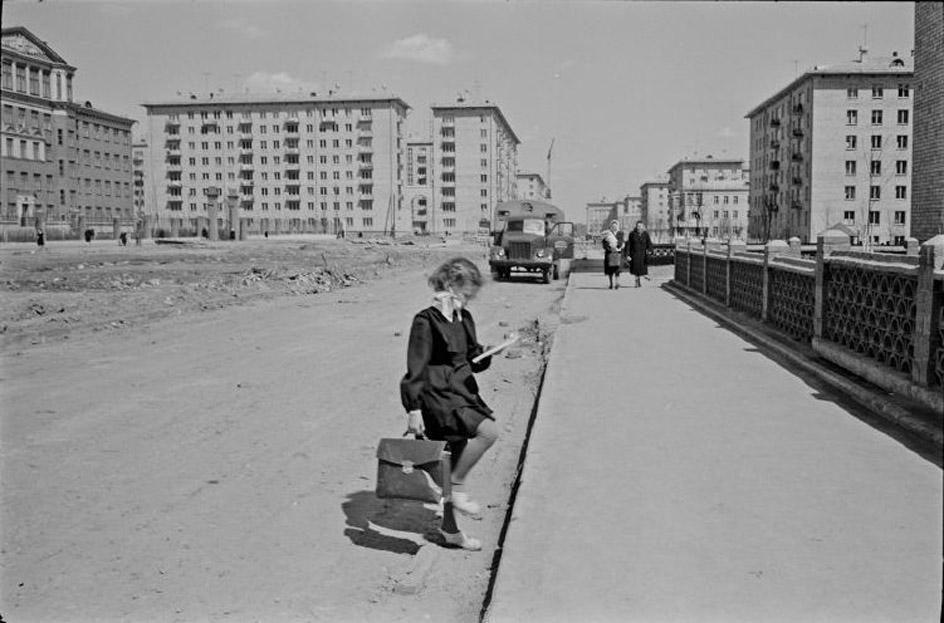 Lessing25 Москва 1958 года в фотографиях Эриха Лессинга