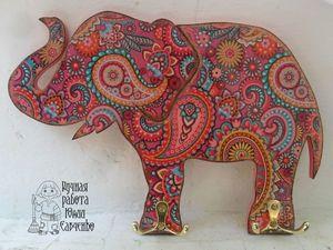 Идеи для вдохновения № 3. Заготовка Слон.. Ярмарка Мастеров - ручная работа, handmade.