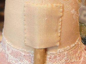 Делаем кармашек для укрепления тильды на подставке. Ярмарка Мастеров - ручная работа, handmade.