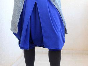 Аукцион N1 - Зимняя юбка-брюки в стиле бохо. Ярмарка Мастеров - ручная работа, handmade.
