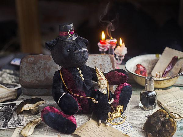 Большой медведь ВиктОр   Ярмарка Мастеров - ручная работа, handmade