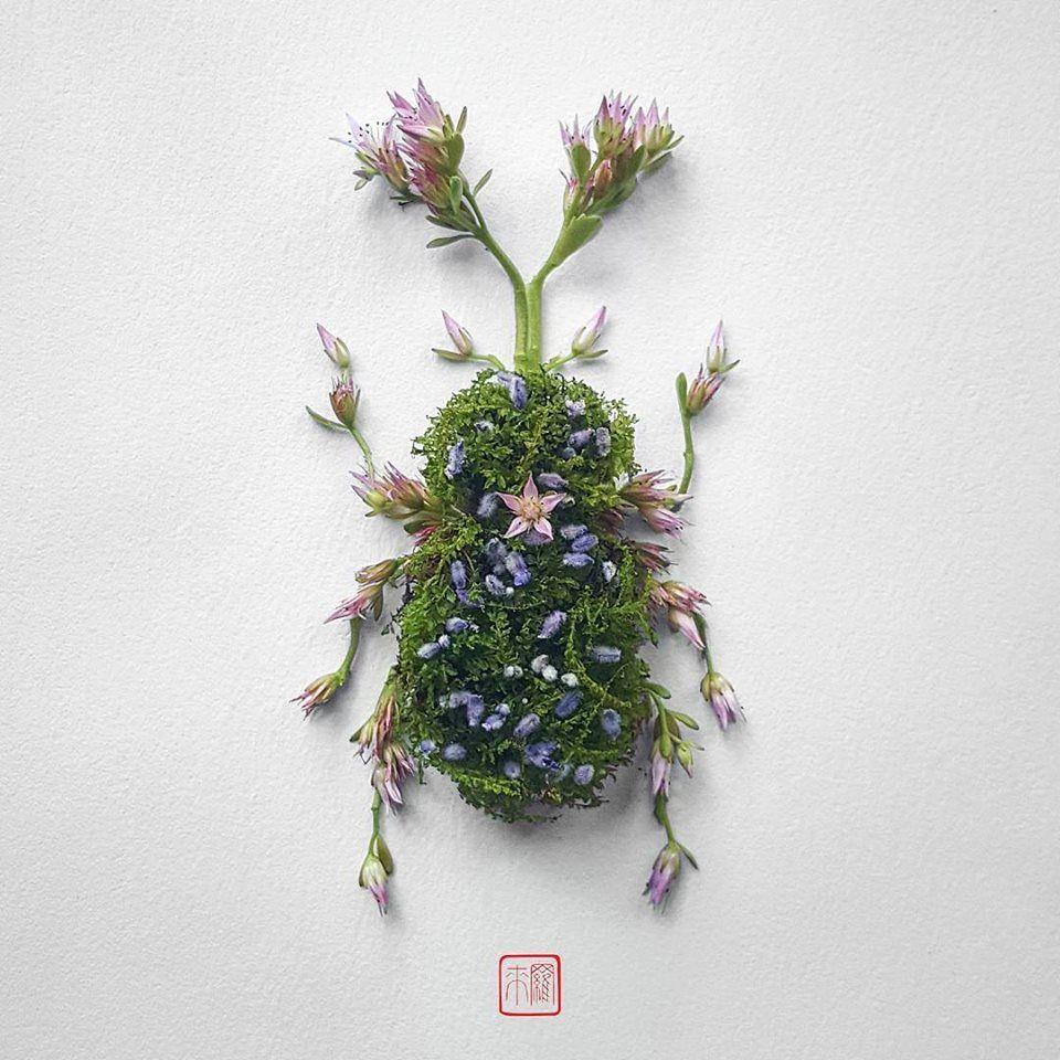 Petal Magic: Unusual Compositions by Raku Inoue, фото № 7