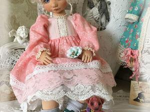 Коллекционные текстильные куклы.. Ярмарка Мастеров - ручная работа, handmade.
