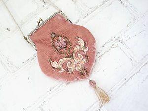 В магазине новинка: Вечерняя вышитая сумочка   Ярмарка Мастеров - ручная работа, handmade
