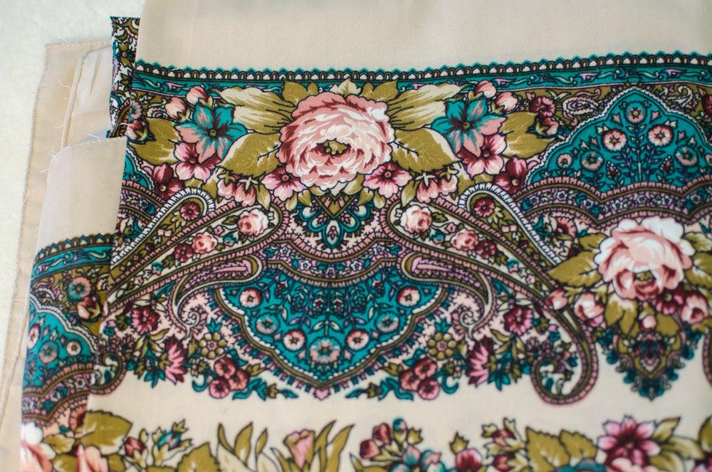 павловопосадский стиль, выбор платка