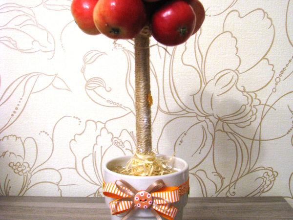 Топиарий «Осенняя яблоня» | Ярмарка Мастеров - ручная работа, handmade