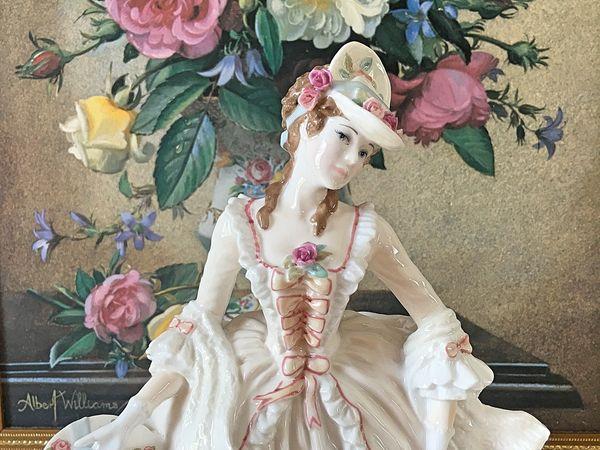 Редчайшая Статуэтка Песня весны Строго Лим серия Royal Worcester | Ярмарка Мастеров - ручная работа, handmade