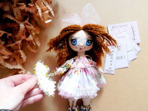 Аукцион. Кукла.. Ярмарка Мастеров - ручная работа, handmade.