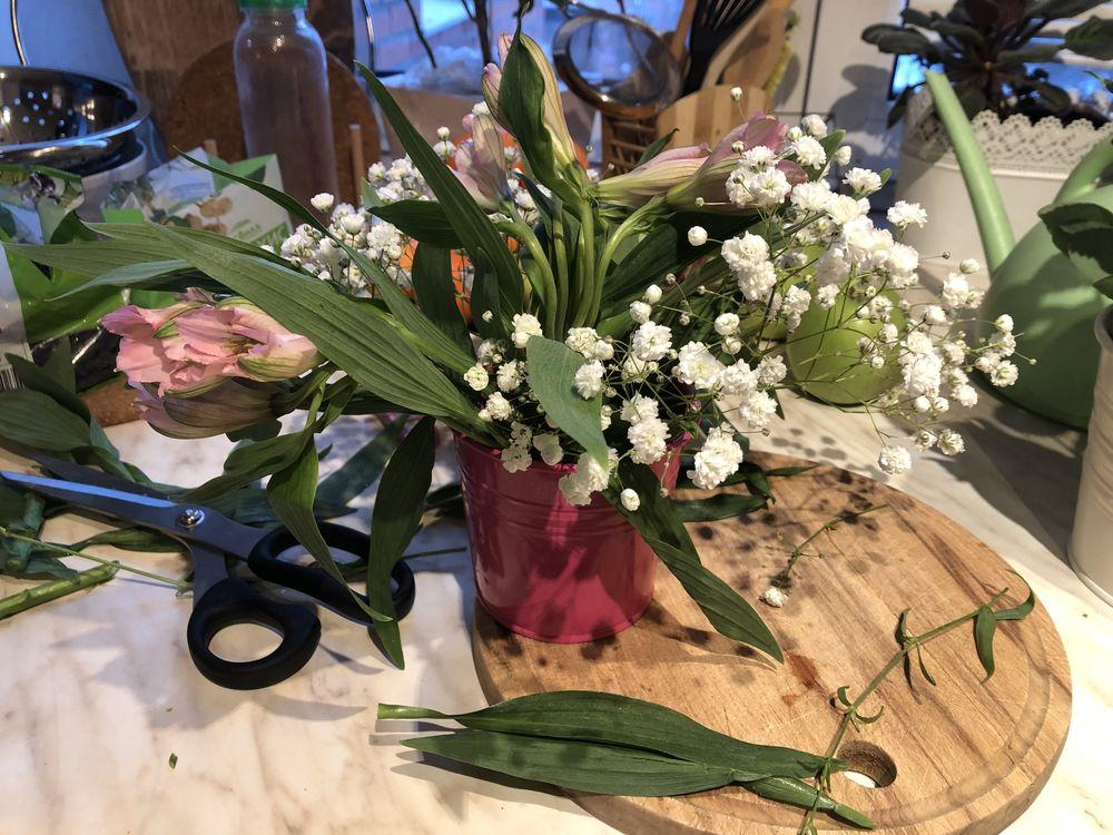 букет цветов, импрессионизм