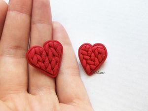 Создаем брошь-сердце из полимерной глины. Ярмарка Мастеров - ручная работа, handmade.