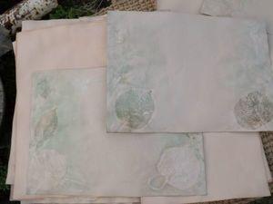 Из Крыма в декабре: новая порция бумаги с эко-принтом. Архивное качество, плотность 120г/м2. Ярмарка Мастеров - ручная работа, handmade.