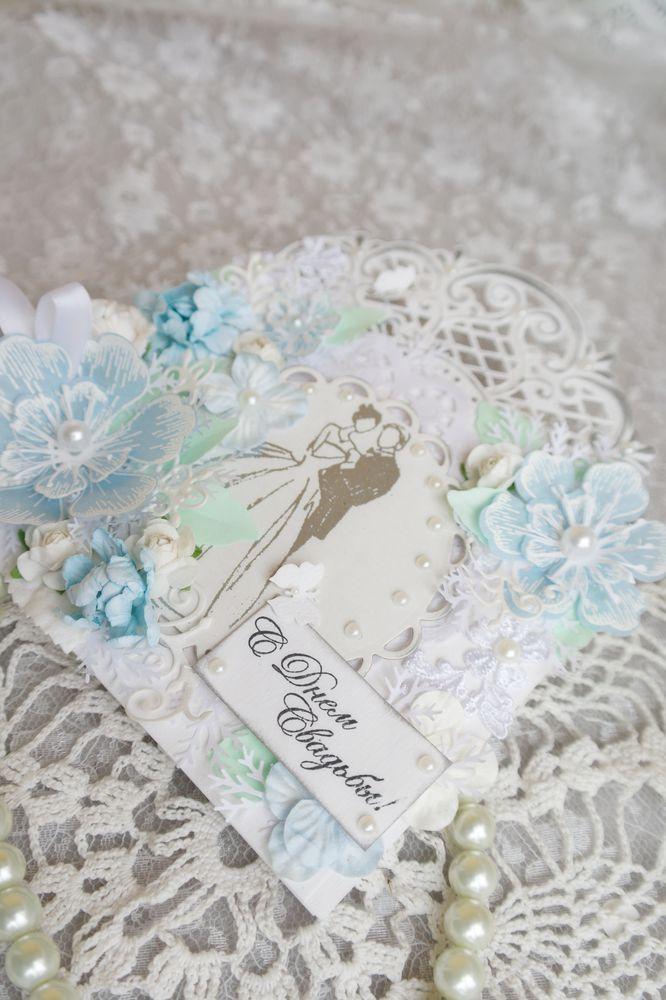 Свадебная открытка конверт, фото № 5