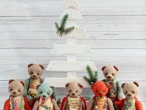 Новогодняя коллекция мишек уже в продаже!. Ярмарка Мастеров - ручная работа, handmade.
