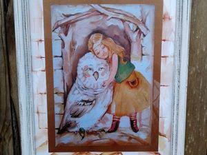 Аукцион на двух ангелов и верных друзей закрыт!. Ярмарка Мастеров - ручная работа, handmade.