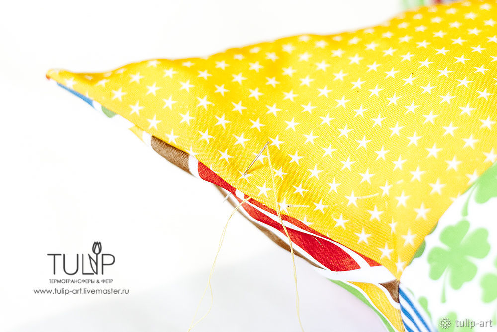 Sewing a Bright Star Pillow Quickly and Easily, фото № 14