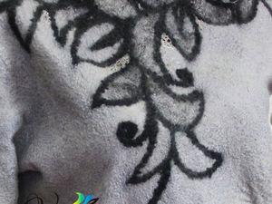 Валяный свитер  «Зимние узоры» . Акция!. Ярмарка Мастеров - ручная работа, handmade.