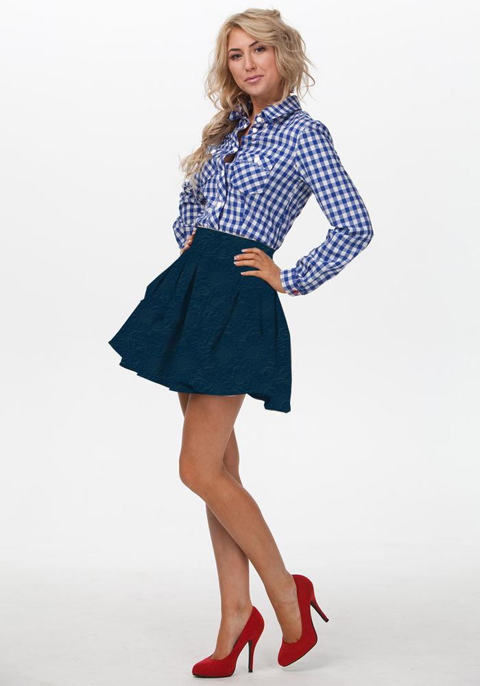 юбка, юбка до колена, юбка трикотажная, модная юбка, юбка с принтом
