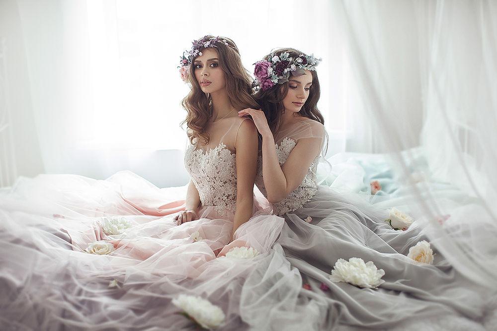 веночки для волос, свадебные украшения
