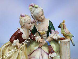 Девушка девочка пара материнство попугай птица Германия 47 | Ярмарка Мастеров - ручная работа, handmade