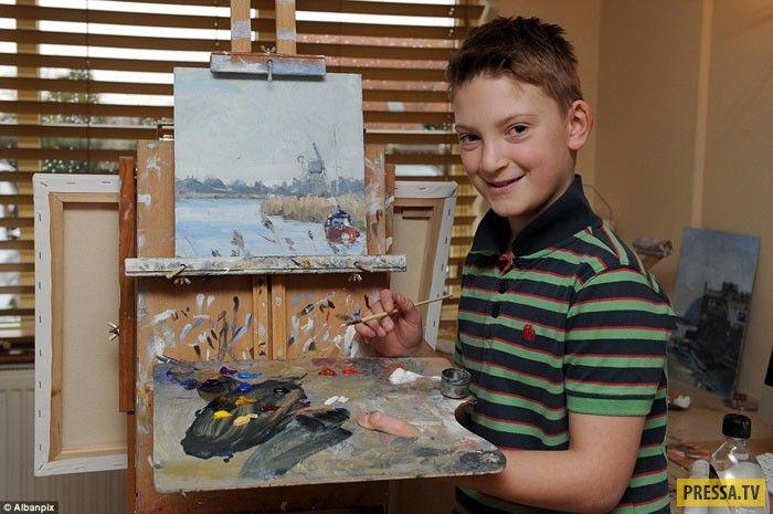 талантливый мальчик