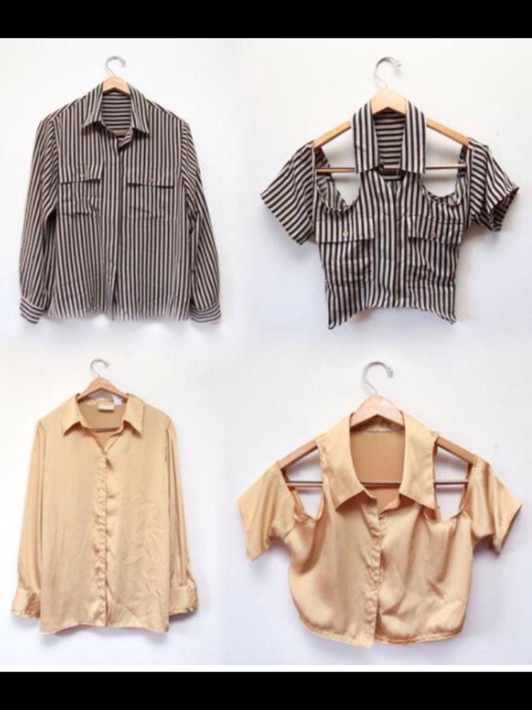 Большая переделка: что можно сделать из мужской рубашки