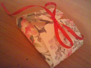 Мини мастер-класс по изготовлению картонной упаковки без склеивания. Ярмарка Мастеров - ручная работа, handmade.