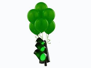 Зелёный свет Вашим пожеланиям! | Ярмарка Мастеров - ручная работа, handmade