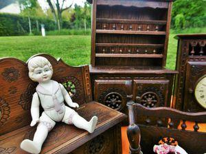 Коллекции моего магазина: антикварная бретонская мебель для кукол! | Ярмарка Мастеров - ручная работа, handmade