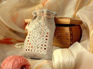 Красота норвежского Хардангера, воплощенная в вышивке. Ярмарка Мастеров - ручная работа, handmade.