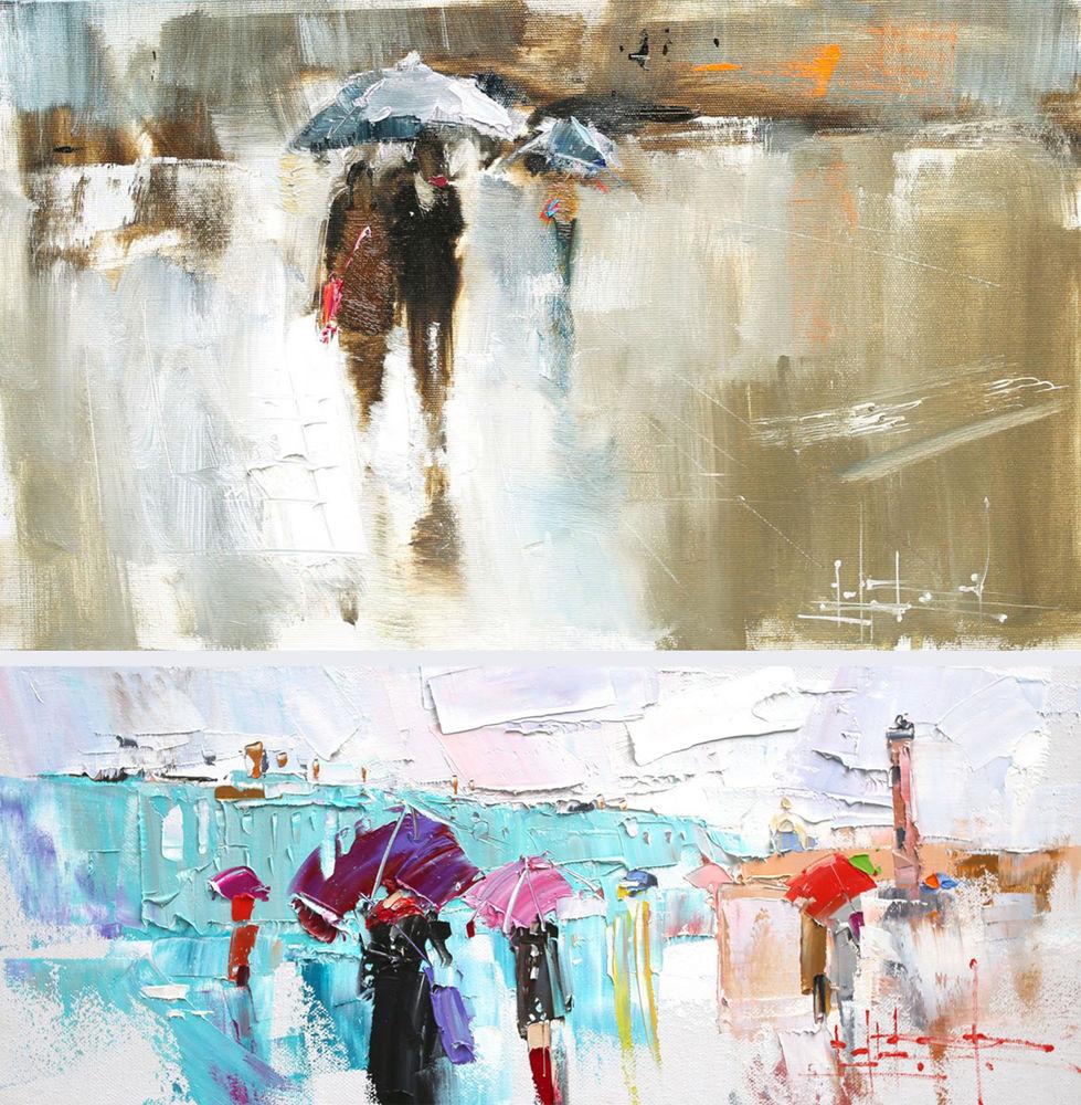 Konstantin Sukhopluev: Artist Painting Rain, фото № 3