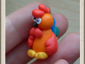 Символ года: лепим с детками петушка из пластилина. Ярмарка Мастеров - ручная работа, handmade.