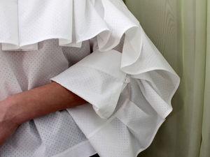 Новая красивая блузка с воланом !   Ярмарка Мастеров - ручная работа, handmade