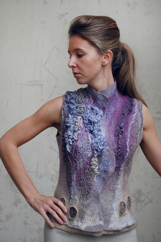 Валяние из шерсти одежды идеи дизайнера фото