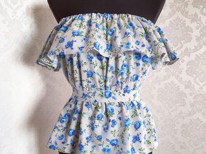 Сшить платье с воланами мастер класс