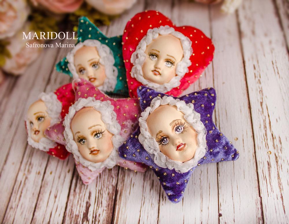 подарок на новый год 2017, купить текстильная кукла