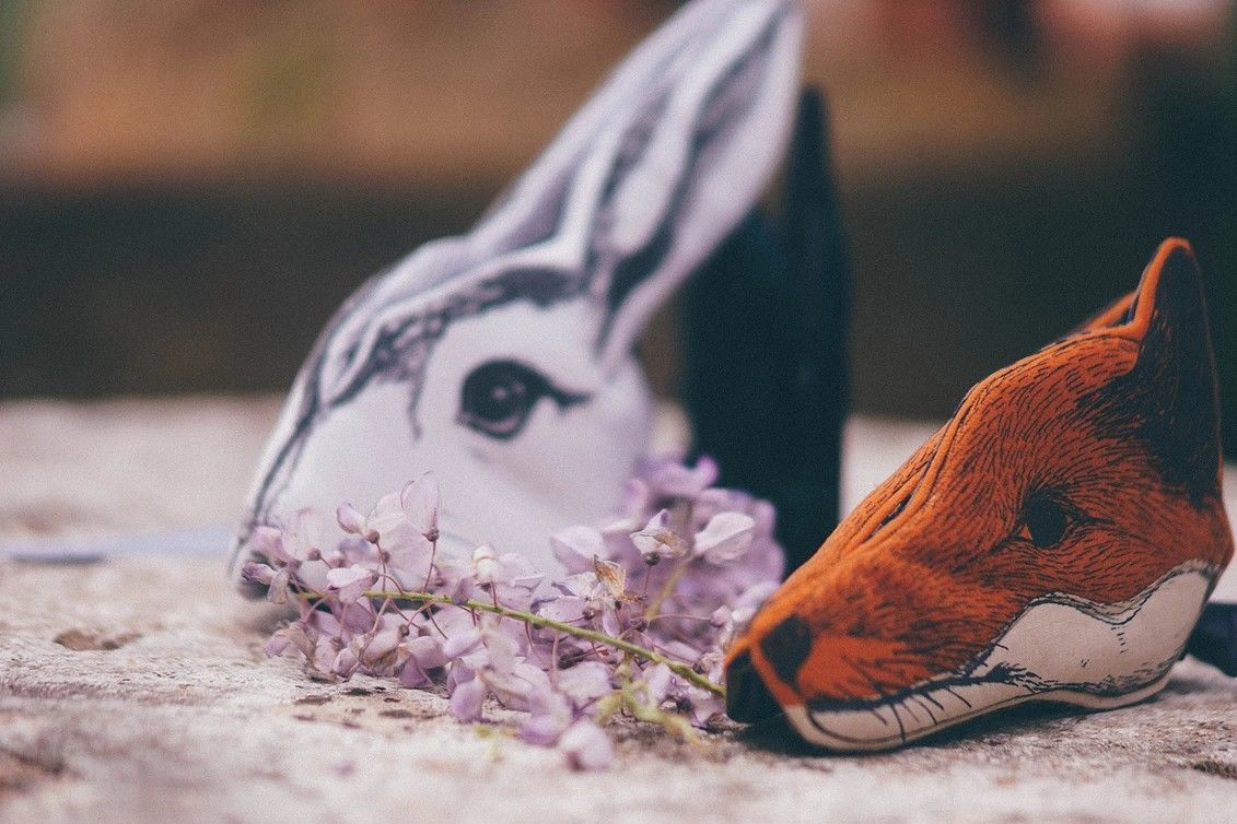 Show Your Wild Side: Luxury Animal Masks by Animalesque, фото № 29