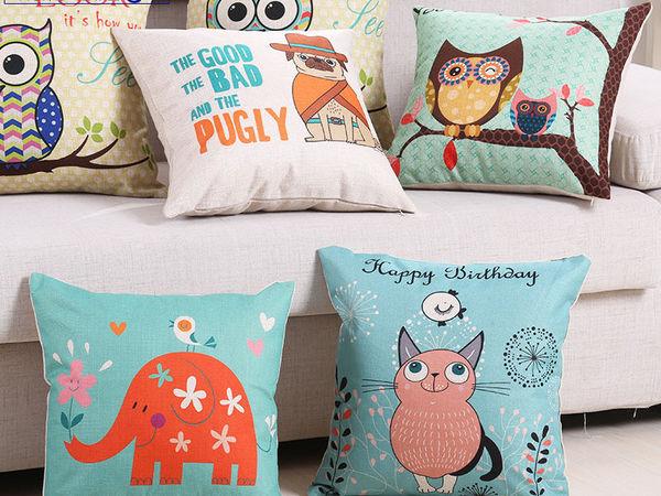 Декоративные подушки — недорогое обновление интерьера | Ярмарка Мастеров - ручная работа, handmade
