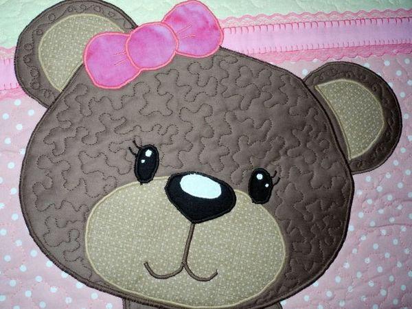 Панно лоскутное - Ми-ми-мишка - обаятельное лоскутное шитье.   Ярмарка Мастеров - ручная работа, handmade