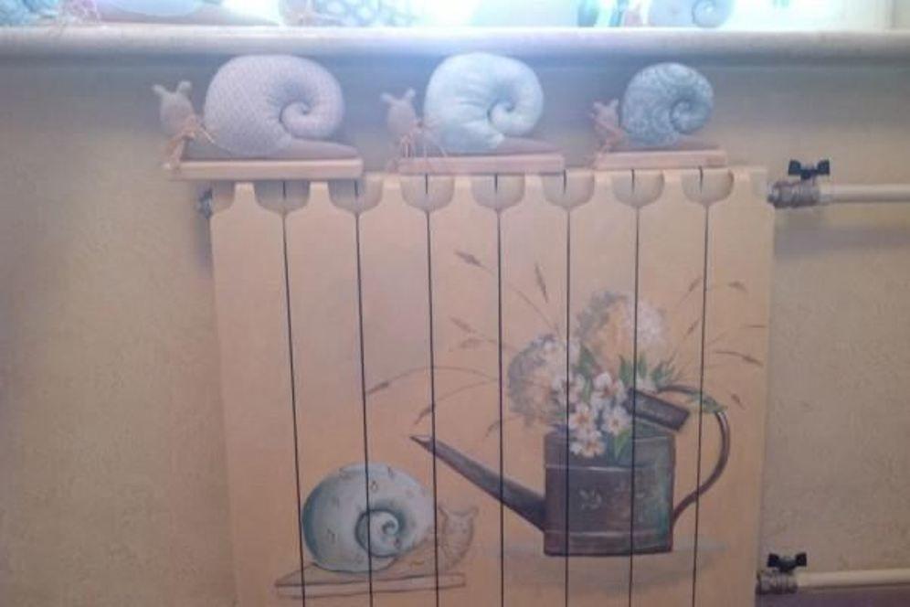 45 идей для декорирования батарей отопления, или Как «замаскировать» радиаторы отопления дома, чтобы не мозолили глаза, фото № 25