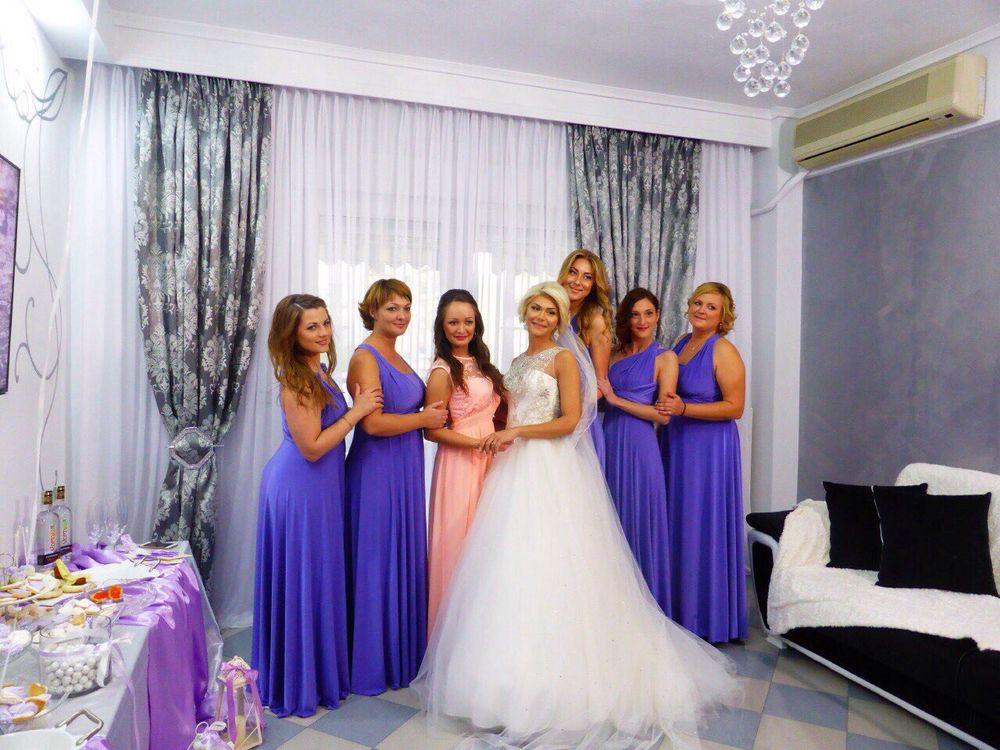платья подружкам невесты, длинное платье, макси, мятный цвет
