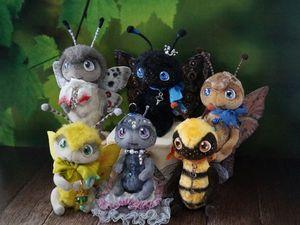 О бабочках, живых и плюшевых. Ярмарка Мастеров - ручная работа, handmade.