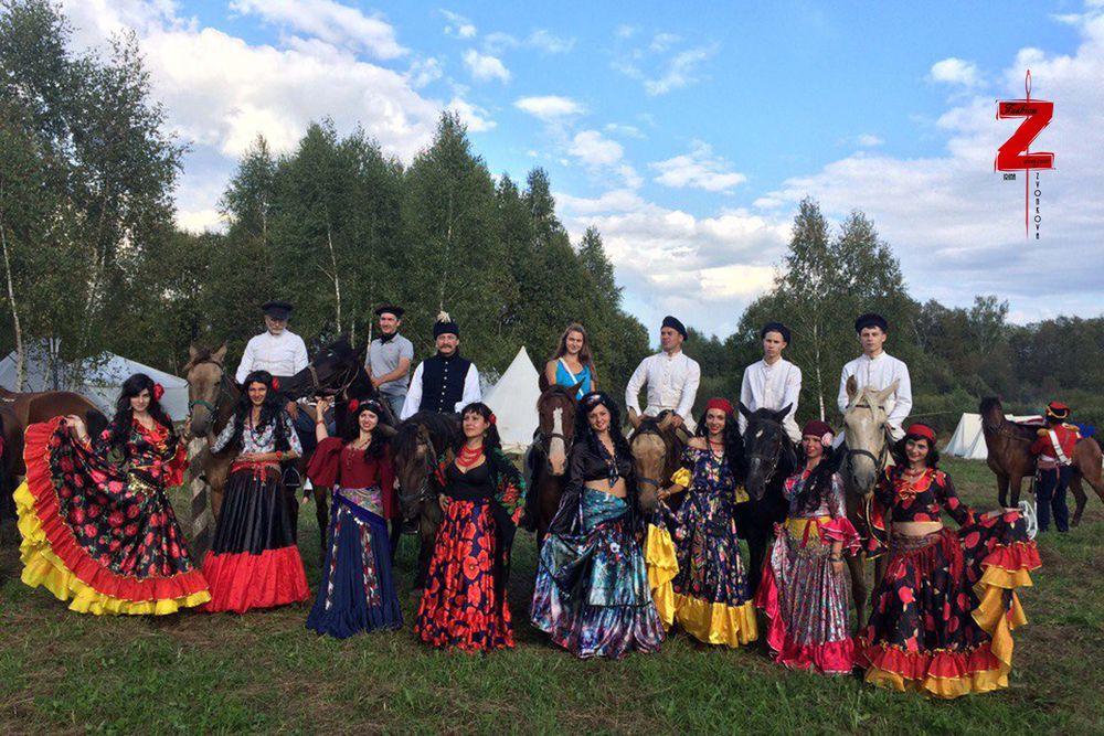 фламенко, юбка цыганская