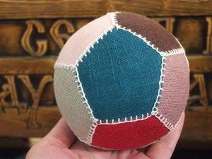 Шьем лоскутный мяч для футбольного болельщика. Ярмарка Мастеров - ручная работа, handmade.