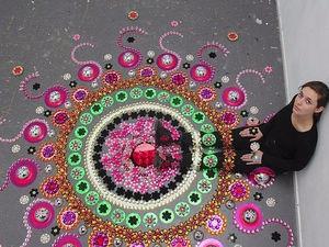 Захватывающие зеркальные калейдоскопы Suzan Drummen. Ярмарка Мастеров - ручная работа, handmade.