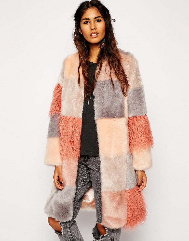 Пальто из искусственного меха своими руками с выкройкой